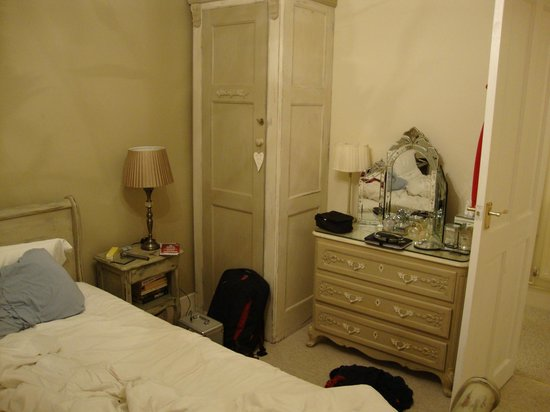 Old Post Office Swanage - Billet Doux: Bedroom storage (note the clutter on the dressing table)