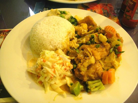 Tim-Buc-Tuu Diner: the curry grouper -- yum!!!