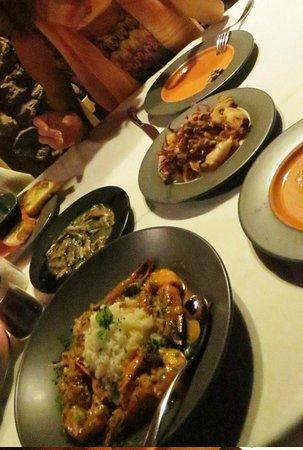 Ammoudi Fish Tavern: Appetizers