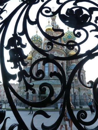 เซนต์ปีเตอร์สเบิร์ก, รัสเซีย: a través de la reja