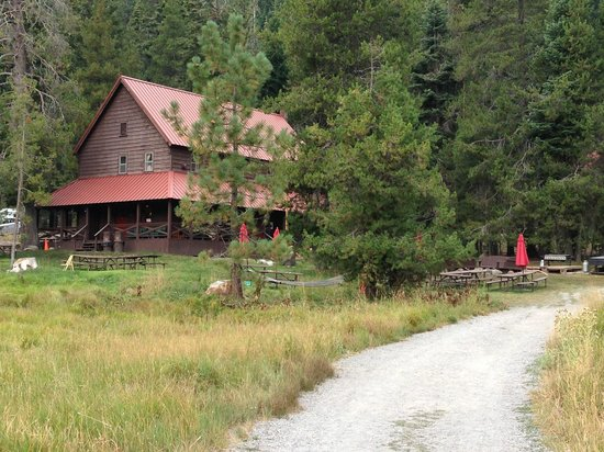 Drakesbad Guest Ranch: The Lodge
