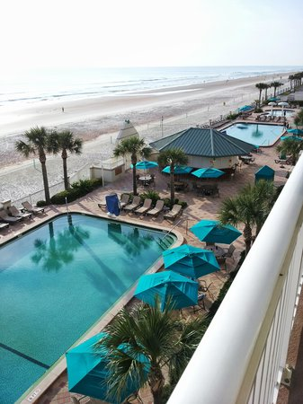 Daytona Beach Resort and Conference Center: View from the balcony