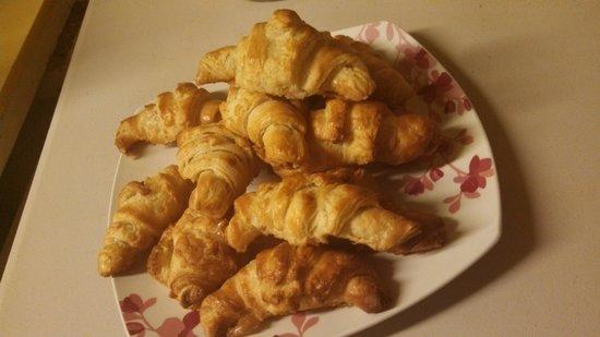 Laura & Tony's Kitchen: new this season...hot homemade croissants