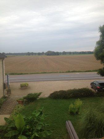 Auberge de la Plaine: View from the bedroom