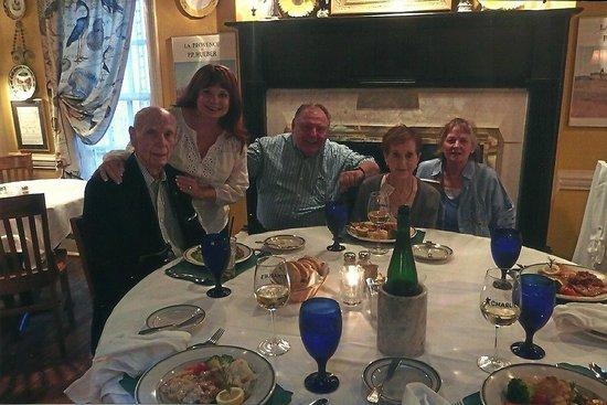 Charlie's L'Etoile Verte : celebrating Dad's 91st birthday at Charlies Etoile Verte