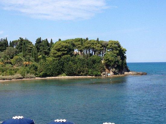 Hotel Villa Domizia: Nice green gulf