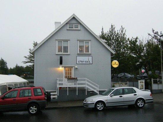 Lambastadir Guesthouse: Kaffi Krus at Selfoss...good to have a dinner...