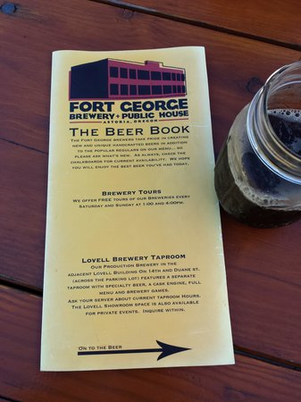 Fort George Brewery + Public House: The Beer Book tells it all