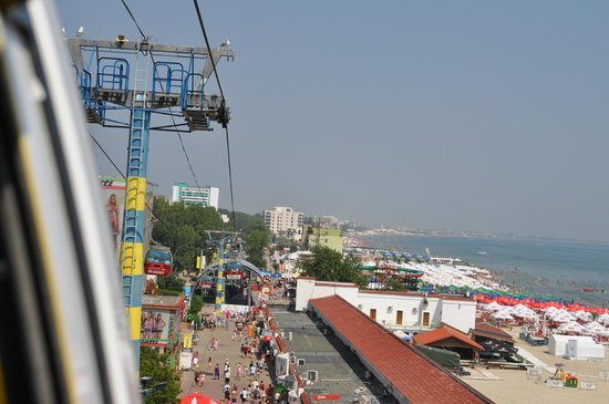 Mamaia Beach: The cable car
