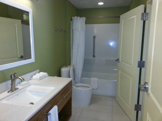 Home2 Suites Charleston Airport / Convention Center : Bath