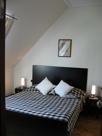 Hotel Rialto : the bedroom
