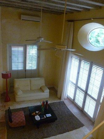 Casa Pestagua Hotel Boutique, Spa : Sala integrada ao quarto