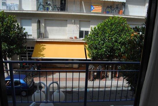 Mar Blau Tossa Hotel: Terraza