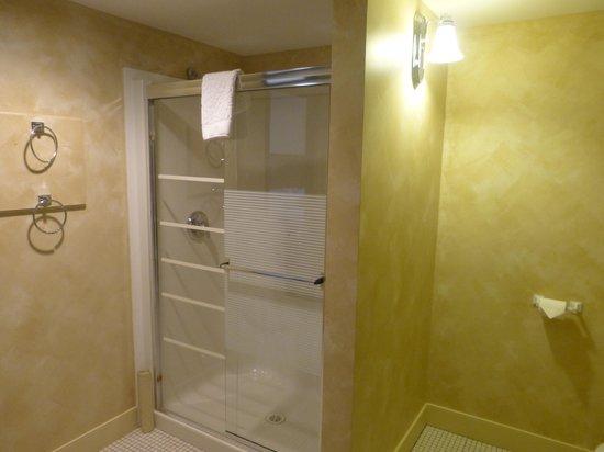 Temple Gardens Hotel & Spa: Shower