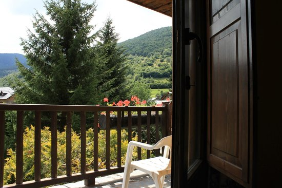 Hotel Saurat: Terraza Habitación Doble