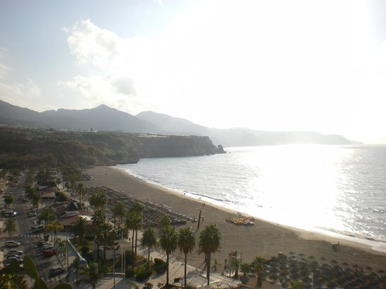Apartamentos HC Burriana Playa : vista desde parador