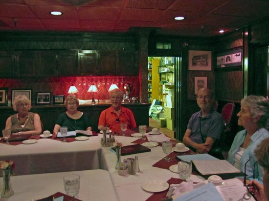 Jacksonville Inn Dining House: Lunch in the Banquet Room