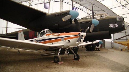 The Hangar Flight Museum: planes