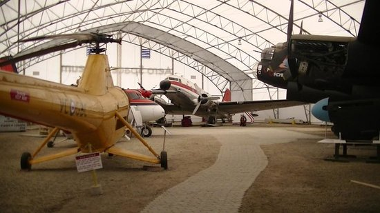 The Hangar Flight Museum: more planes