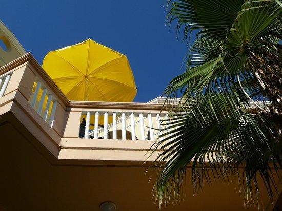 Futura Hotel: Our balcony