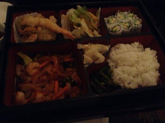 Hashi sushi: Great Bento