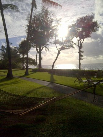 Kauai Coast Resort at the Beachboy: Sunrise over The Beachboy Property