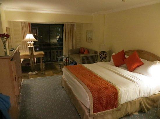 InterContinental Nairobi: Room layout