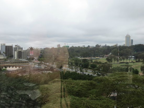 InterContinental Nairobi: View from the roof