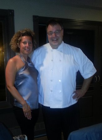 Rissers Social House: Delighted to have a photo with Chef Conrad