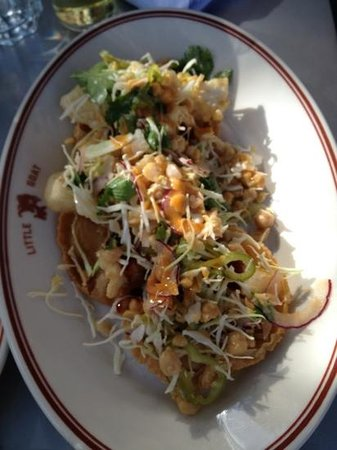 Great Fish Tostada Picture Of The Little Goat Diner Chicago