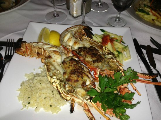 Michaels Restaurant : Lobster