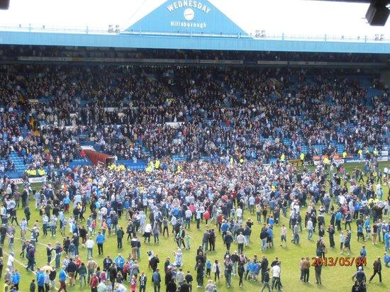 Hillsborough Stadium: stadium after season 2012/2013 last game