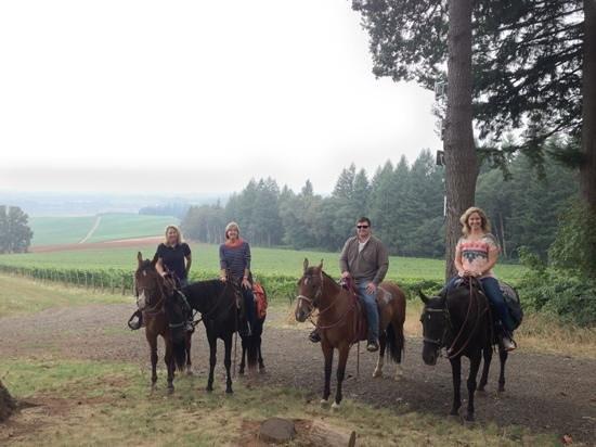 Equestrian Wine Tours Foto