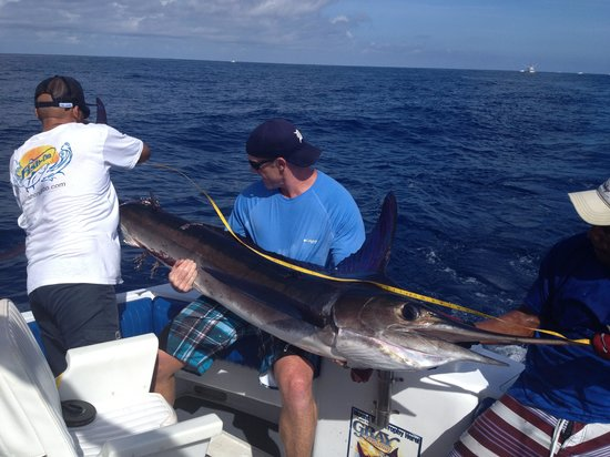 Fish On - Private Charters: Randy's 1st Marlin