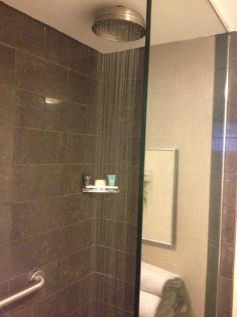 Crowne Plaza Hotel: Rainfall Shower