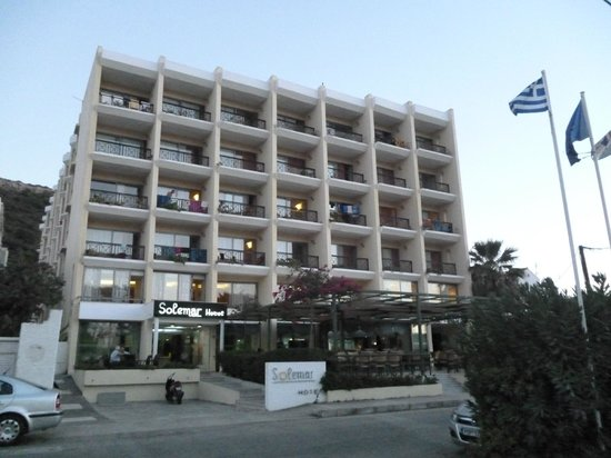Hotel Solemar: Solemar Hotel front view
