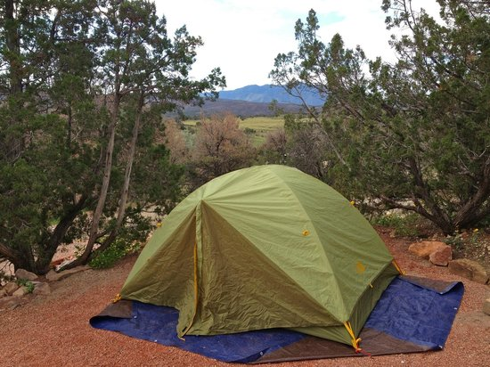 Royal View Campground : View from the site
