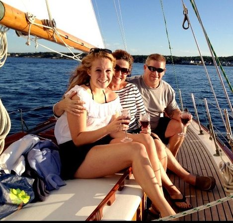 Silverlining Sailing: Happy sailing