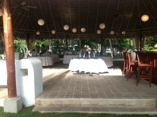 Bahia del Sol Beach Front Boutique Hotel: Wedding set-up