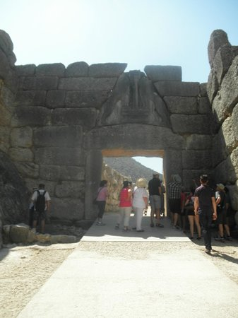 Chat Tours - Day Tours: Lion Gate @ Mycenae