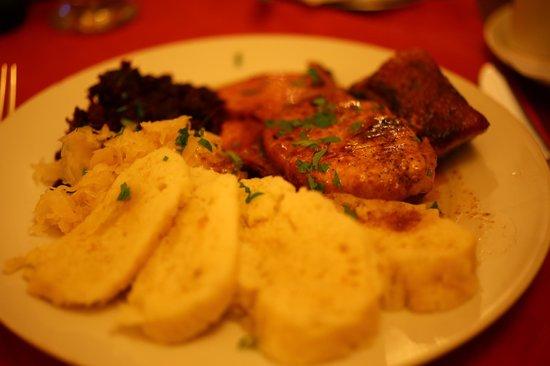 Hotel Kinsky Garden : Bohemian plate