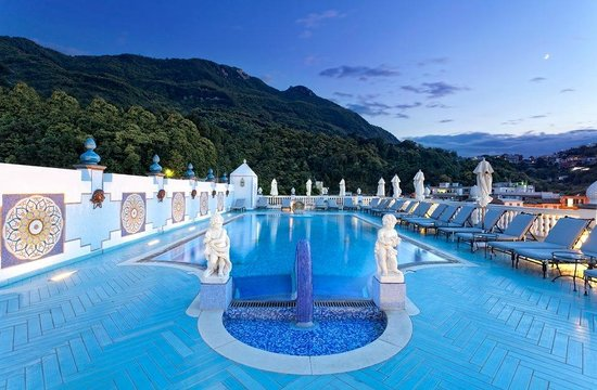 Terme Manzi Hotel & Spa: Outdoor Thermal Pool