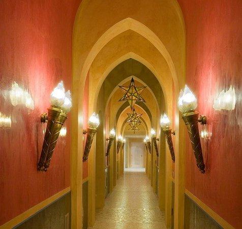 Terme Manzi Hotel & Spa: Spa Corridor