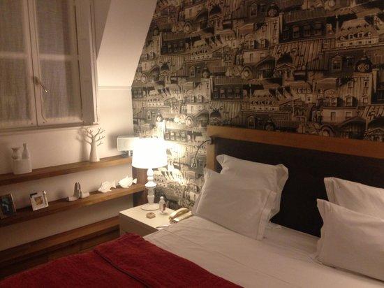 la villa saint germain : The room