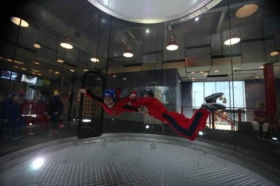 iFLY Indoor Skydiving - Austin: I can fly!!
