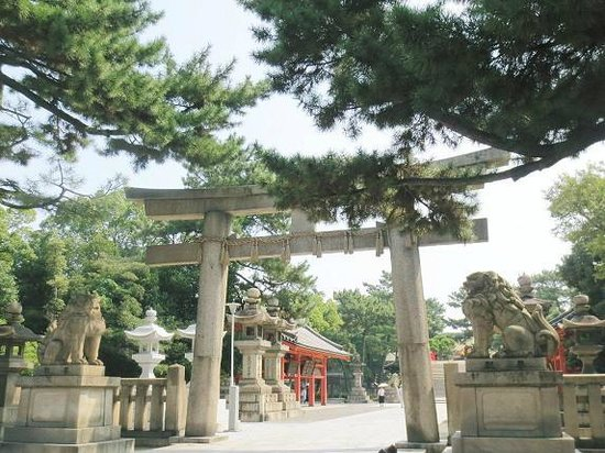 Sumiyoshi-taisha Shrine: 鳥居