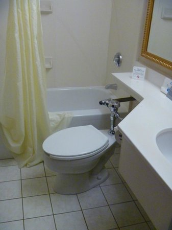 Comfort Inn Airport: The Afterthought Toilet