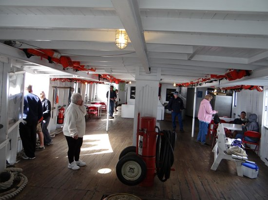 Katahdin Cruises and Moosehead Marine Museum: inside
