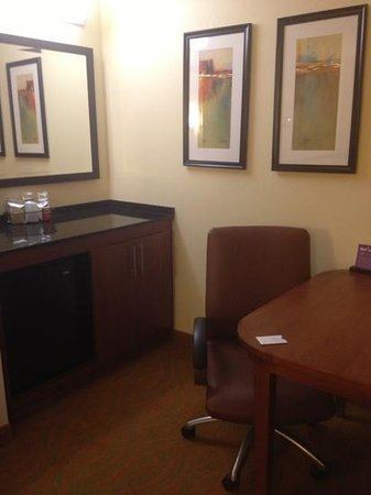 Hyatt Place San Antonio-North/Stone Oak: work area