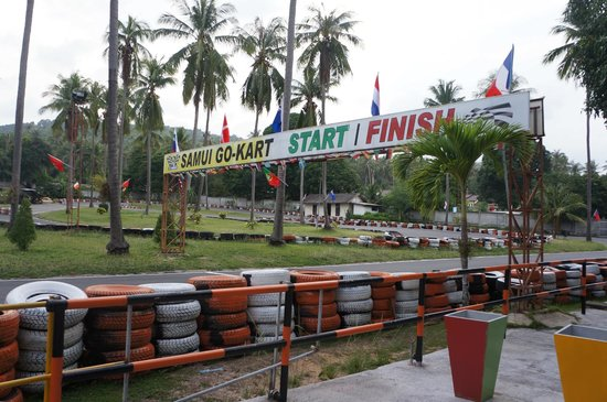 Samui Go Kart : Start/finish